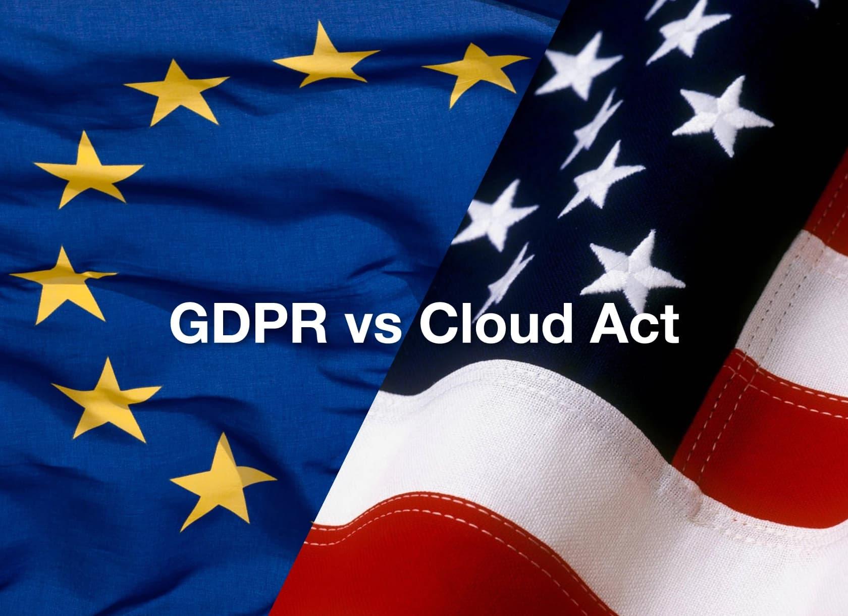 RGPD vs Cloud Act