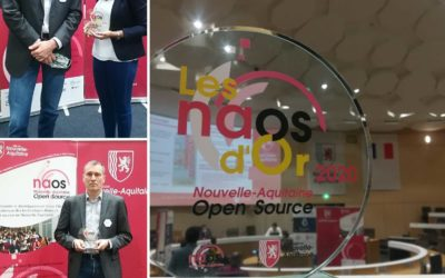 NAOS d'or: Prix de l'innovation open source 2020