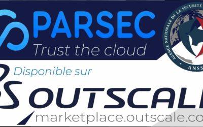 PARSEC disponible sur la Marketplace Oustscale